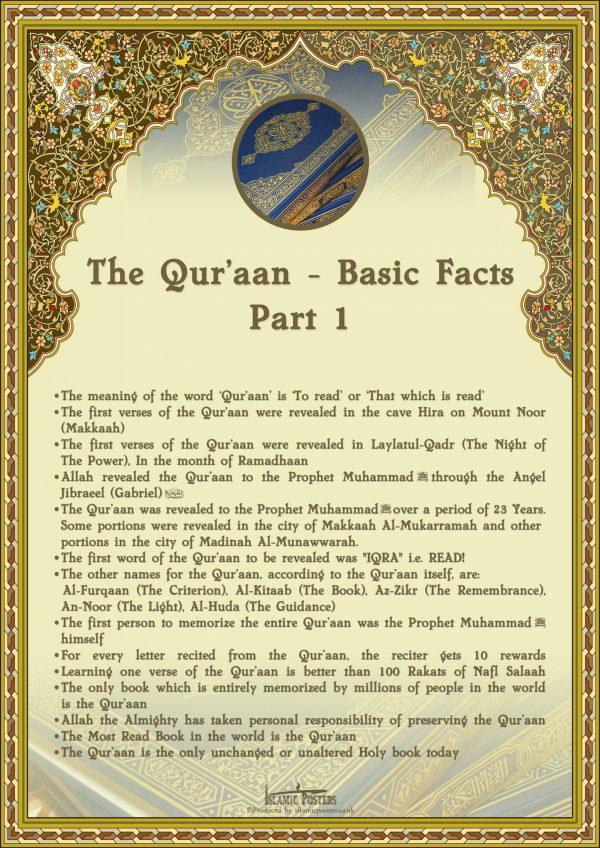 English 18 - Basics of the Quran part 1