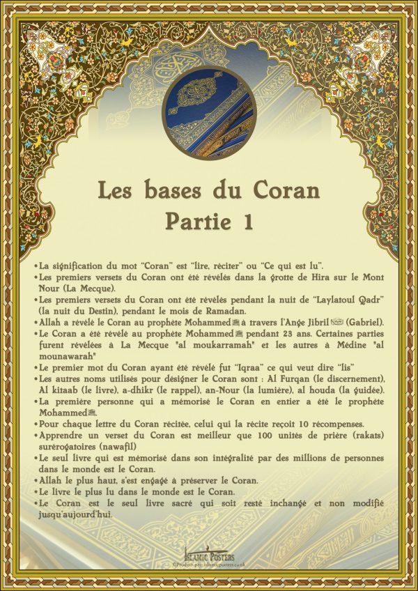 French 16 - french-les-bases-du-coran-partie-1-par-islamic-posters