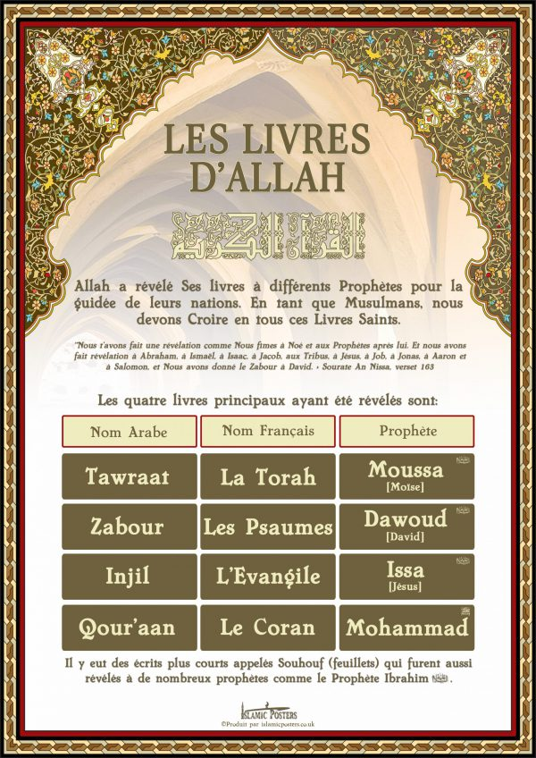 French 20 - french-les-livres-dallah-par-islamic-posters