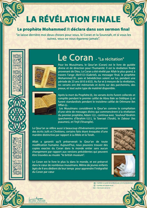 French 9 - french-la-rvlation-finale-par-islamic-posters