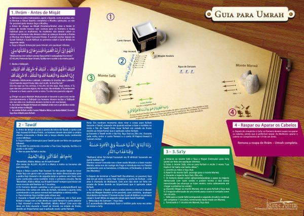 German 4 - Guia para Umrah By Islamic Posters Portuguese