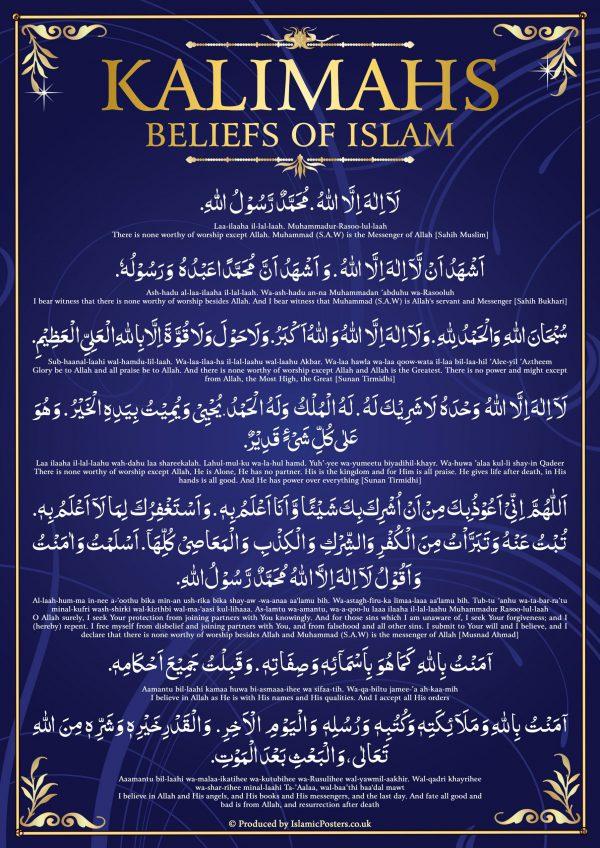 Islamic-Education-3-0-Kalimahs-Beliefs-of-Islam-by-Islamic-Posters.jpg
