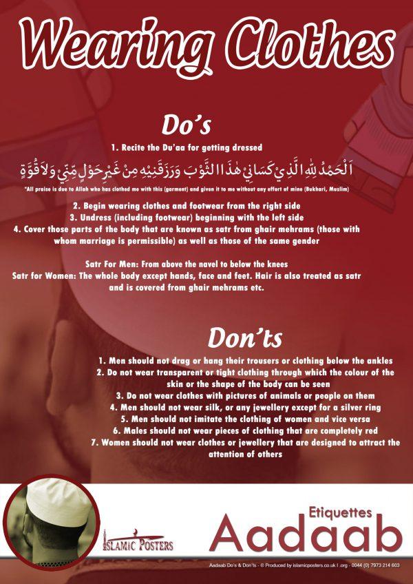 Islamic Education 37 - Aadaab V2 The Adaab of wearing clothes