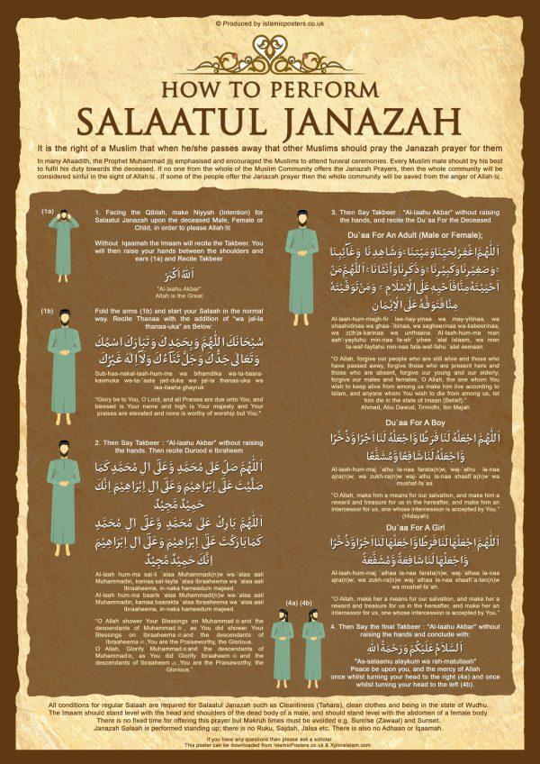 Islamic Education 48 - Learn How To Perform Salaatul Janazah V2