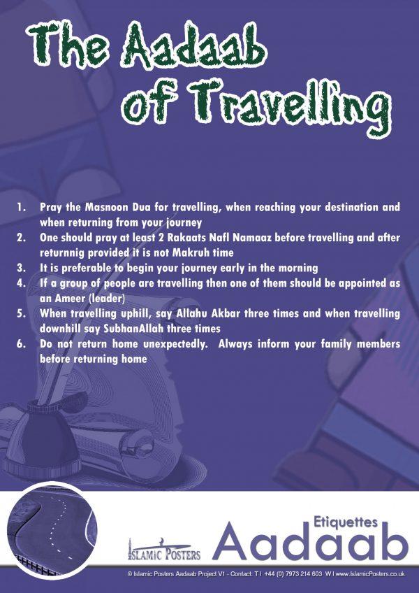 Islamic Education 70 - The Aadaab of Travelling