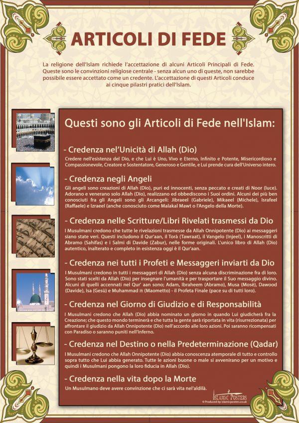 Italian 2 - ARTICOLI DI FEDE by islamic posters