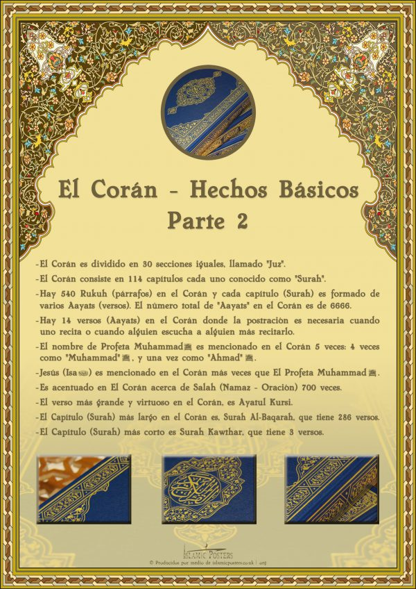 Spanish 12 - spanish-el-corn--hechos-bsicos-parte-2-by-islamic-posters
