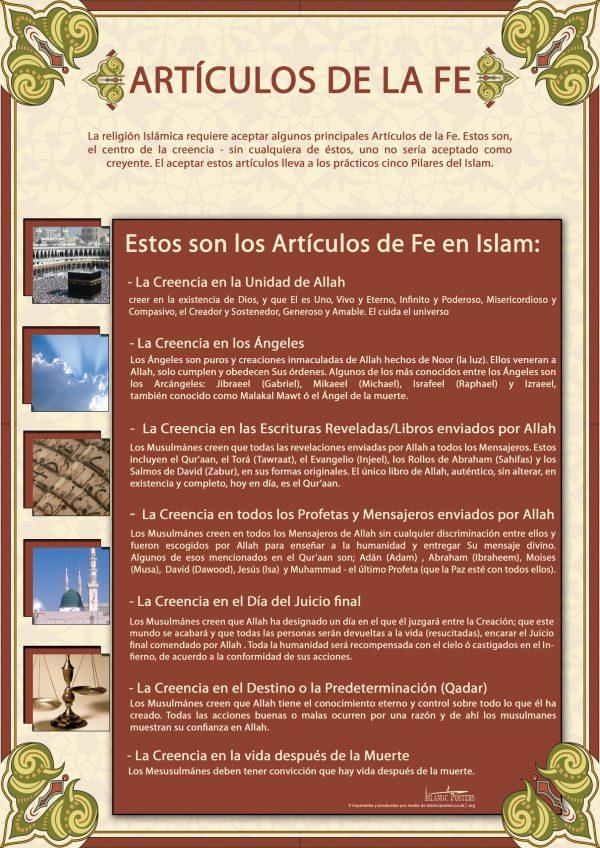 Spanish 9 - spanish-artculos-de-la-fe-
